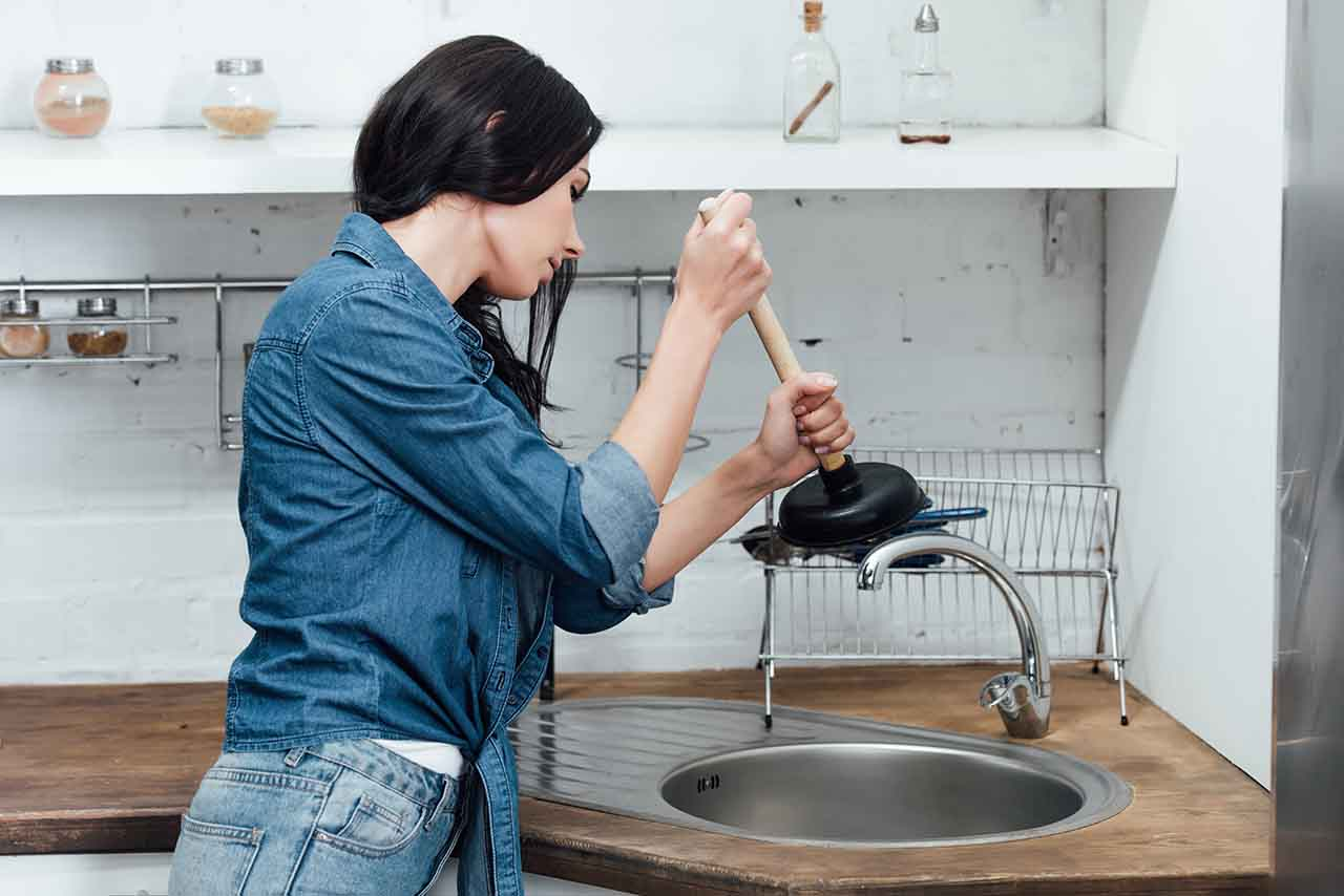 drain cleaning in Roswell, GA